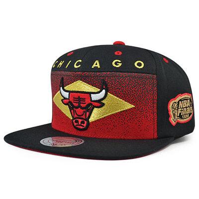 Chicago Bulls Mitchell & Ness TAKE FLIGHT NBA Finals 98 Snapback Adjustable Hat - Chicago Bulls Nba Finals