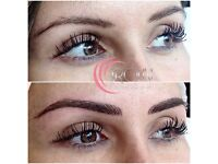 Semi Permanent Make up Eyebrows Eyeliner Lips