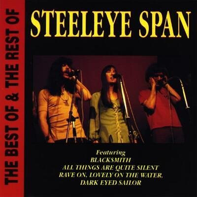 Steeleye Span- The Best Of & The Rest Of- CD DISC ONLY (The Best Of Steeleye Span)