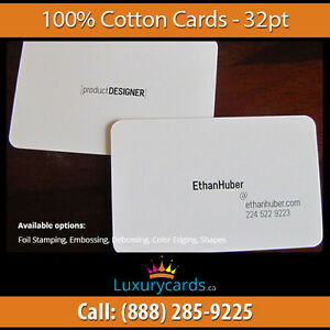 Special Material 100% COTTON CARDS - Luxurycards.ca London Ontario image 5
