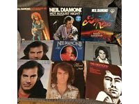 16 x Neil diamond albums