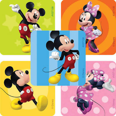 25 Disney Mickey Minnie Mouse Stickers Party Favors  Teacher Supply #2
