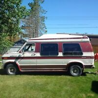 1988 Ford Econoline with wheelchair lift