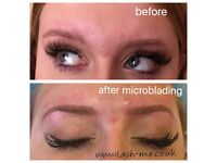 Microblading , semi-permanent eyebrow microblading, Russian volume eyelash extensions, Mink lashes