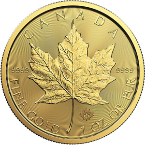 1 oz Gold Maple Leaf Coin RCM - 2018 - Royal Canadian Mint
