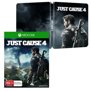Just Cause 4 in Steelbook case (XBOX One) `