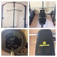 Home Gym Unit $400 OBO NEED GONE ASAP