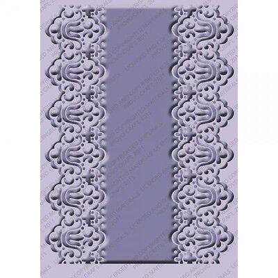 NEW Cricut Cuttlebug Embossing Folder Scrapbook Card Art Scalloped Edge 4.75x6.5 Cuttlebug Embossing Folder