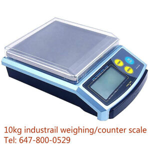 10kg(22lb) x2g industrial electronic weighing scale