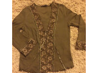 River island cardigan size 14 gd condition