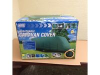 Caravan winter cover