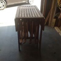 Deck table and chairs