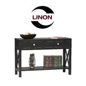 NEW* LINON ANNA CONSOLE TABLE Linon 86107C124-01-KD-U Anna Collection Console Table 107304762