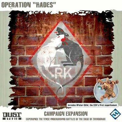 DUST 1947 / Tactics - Operation Hades - Winter Child Hero  -=NEW & Sealed=-](Baby Hero Games)