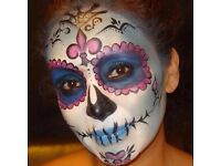 Face painter and special effects for Halloween children's parties and events