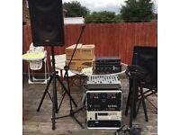 Full karaoke / dj equipment