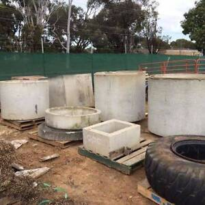 Cement Cylinders, Pipes, Squares, Tree rings..from $25 North Plympton West Torrens Area Preview
