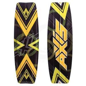 Perdu planche Axis Vanguard 137x42 jaune et noir