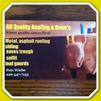 All Quality Roofing & Reno's