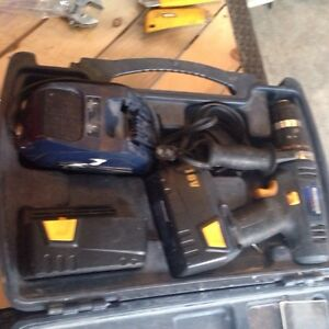 Master craft drill and light and two batterys