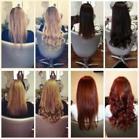 Fusion, Micro Links & Tape Hair Extensions