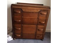 1937 Chest of Drawers For Sale