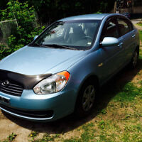2007 Hyundai Accent Sedan