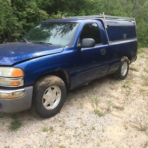 2003 gmc short box