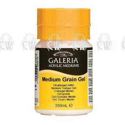 Winsor & Newton Galeria Medium Grain Gel For Acrylic 250ml.artists Paint Medium