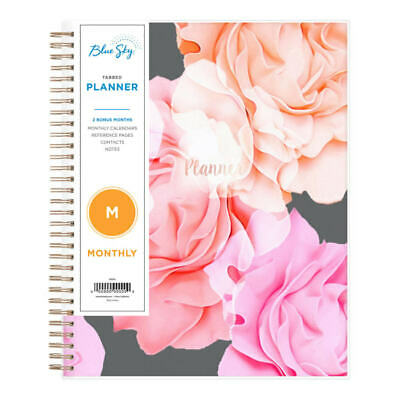 Blue Sky Monthly Planner 8 X 10 Joselyn January To December 2021 101395