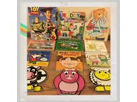 Job Lot of Baby and Toddler Board Books, Wind in the Willows, Toy Story and Fireman Sam