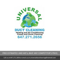 Air Duct Cleaning, Dryer Vent Cleaning and More