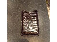 Monte Blanc black iPhone case
