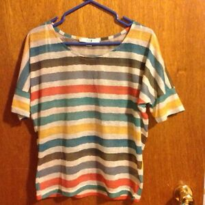 Stripe shirt size small