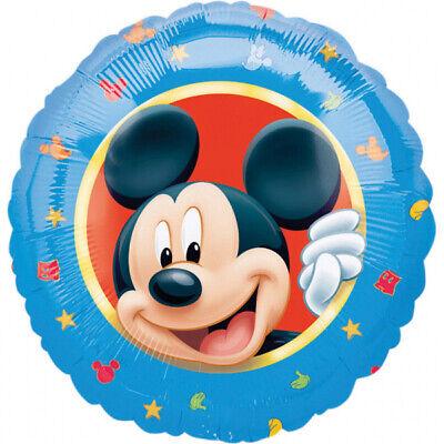 Folienballon Mickey Mouse Kopf 43cm Kindergeburtstag, Geschenk, Luftballon, Deko