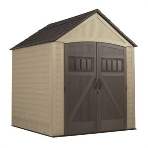 NEW IN BOX Rubbermaid Roughneck 7 x 7 Shed - Garden Shed