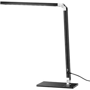 Tensor dimming LED desk lamp with USB charger