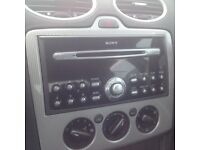 Ford focus cd player 55 reg all working order but no code