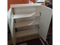 IKEA bully bookshelf/ cupboard with doirs