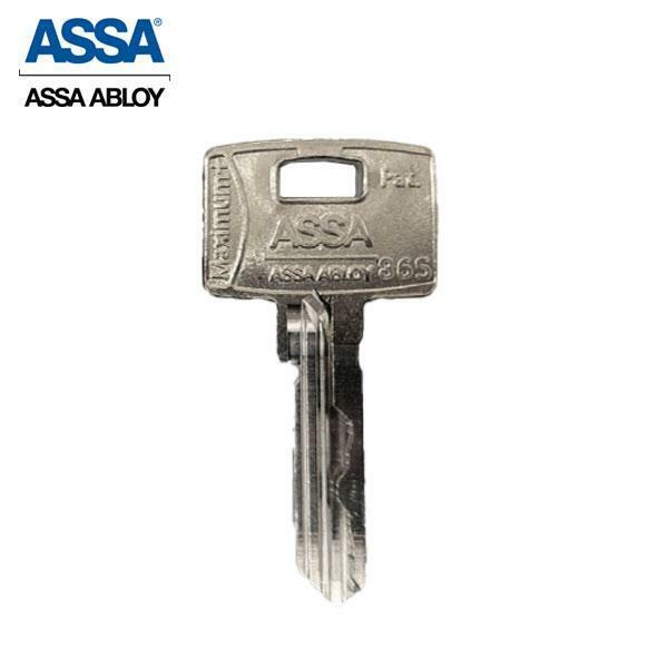ASSA - MAX+ Maximum+ High Security Restricted Key Blank