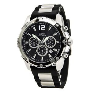 Guess Watch with Silicone Strap Strathcona County Edmonton Area image 1