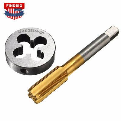 12-28 Gunsmithing Tap And Die Set Tin Coated Rh Thread Lifetime Warranty -302
