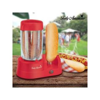 Hot Dog Maker + Bread Bun Warmer - Cooks 7 Hot dogs at a time NEW