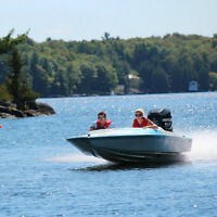 Sweet Jcraft Waterski boat with 200hp Optimax