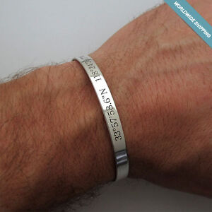 mens sterling silver cuff bracelet ebay. Black Bedroom Furniture Sets. Home Design Ideas