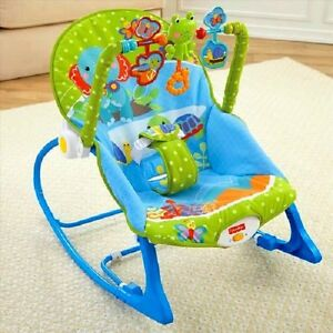chaise vibrante pour bebe fisher price comme neuf !!!