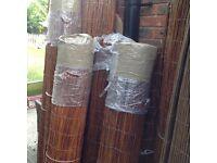 Willow screening 1.5m, 1.8m & 2m high rolls
