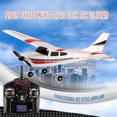 Original Wltoys F949 2.4G 3Ch RC Airplane Fixed Wing Plane Toys O2G1