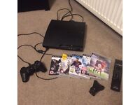 PS3 and assorted games/accessories