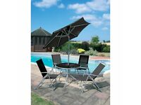 6 Piece Deluxe Garden Patio Furniture Patio Set